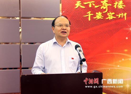 """容县书记赵翔:持续推进""""六大攻坚""""提升特色旅游内涵"""