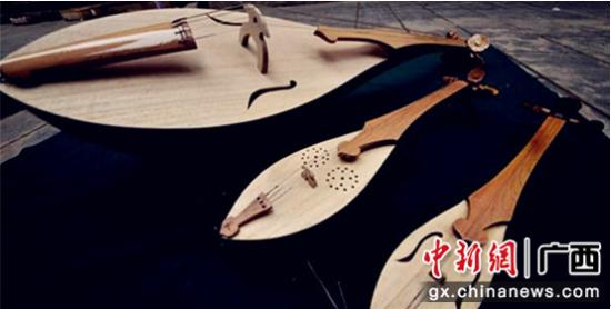 侗族琵琶。 广西歌舞剧院供图
