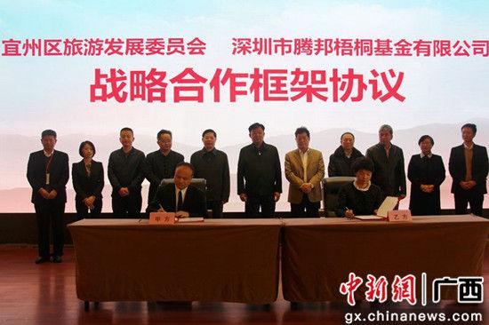 战略合作协议签订仪式。
