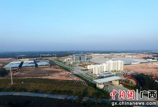 龙潭产业园区鸟瞰图。