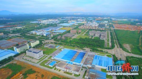 图为广西—东盟经开区综合产业园区一角 蓝必祠 摄