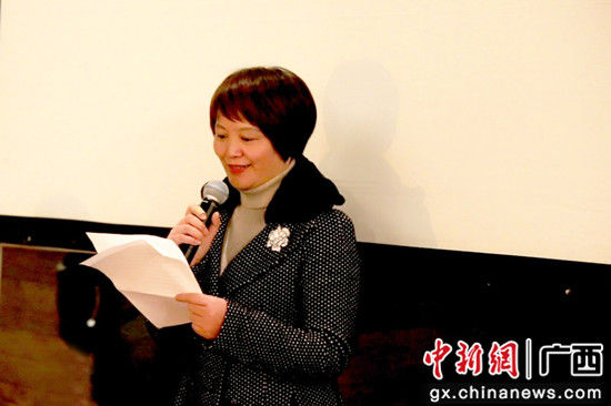桂林市妇女联合会副主席 王淑兰致辞,希望更多的爱心企业能更积极主动地关心目前存在的严峻的女性健康问题。