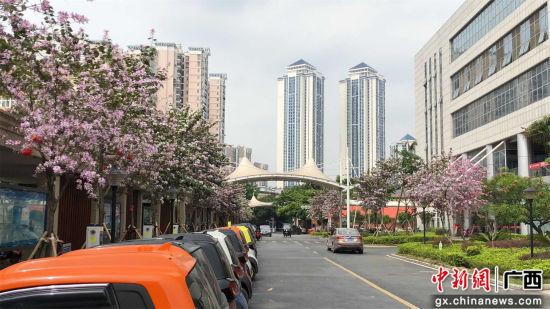 柳铁中心医院一隅。