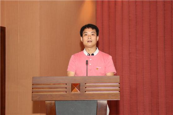 广西工程咨询中心党支部代表发言