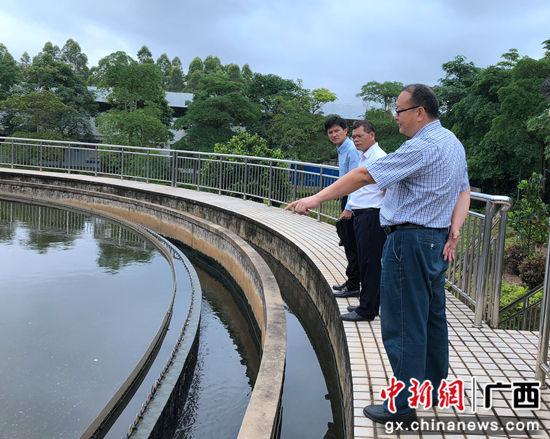 作为全区工业区中的第一家开工建设的污水处理厂,南宁市明阳工业区污水处理厂于2017年获得邮储银行资金支持