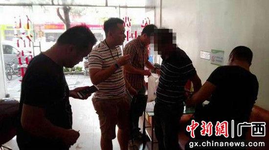 民警成功抓获嫌疑人。