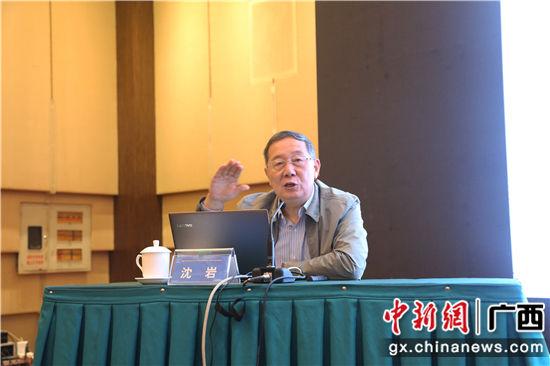 中国科协副主席、中国科协常委会老科技工作者专委会主任、中国科学院院士沈岩出席培训会