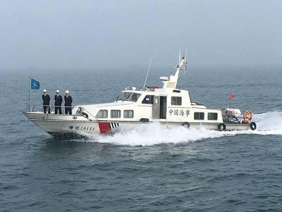 北海海事局开展节前联合巡航
