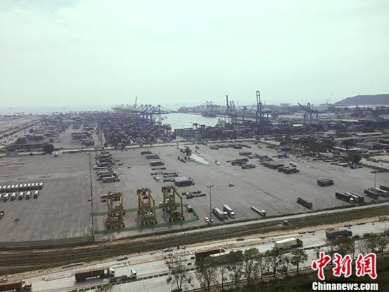 """一带一路""""让泰国最大深海港成耀眼""""明珠"""""""