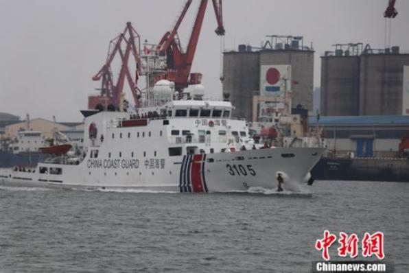 广西举行海上实弹射击演练 提高北部湾维稳防控能力
