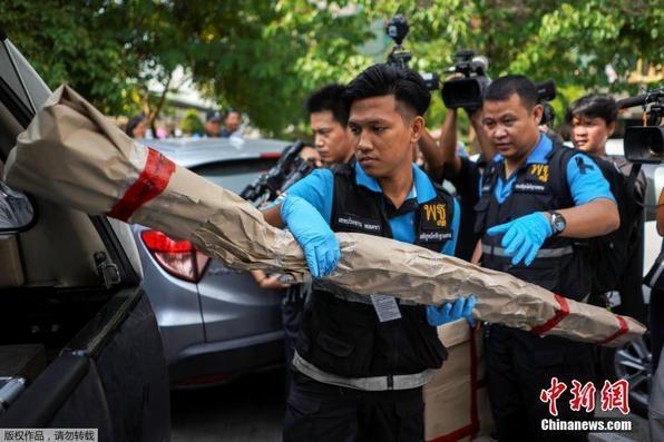 泰国曼谷一军队医院发生爆炸 至少25人伤(组图)