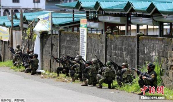 菲律宾政府军在南部苏禄省遭伏击 1死10伤