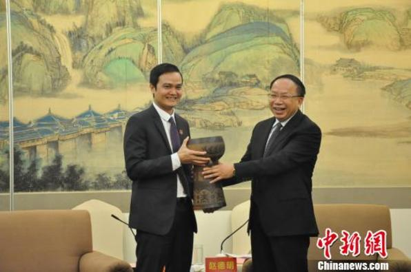 90名越南青年赴广西交流考察 增进桂越两地青年友谊