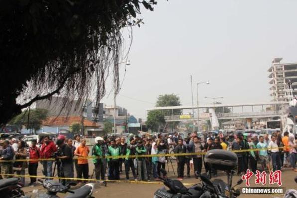 印尼警方逮捕3名雅加达车站爆炸案嫌犯