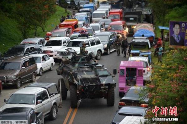 菲律宾国防部长称马拉维市冲突有望一周内结束