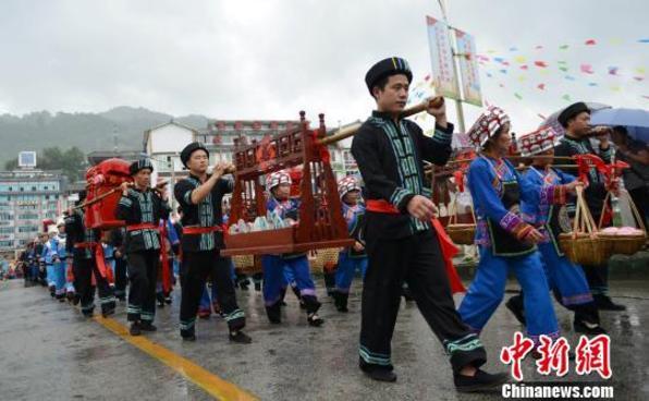 广西龙胜欢度龙脊梯田文化节