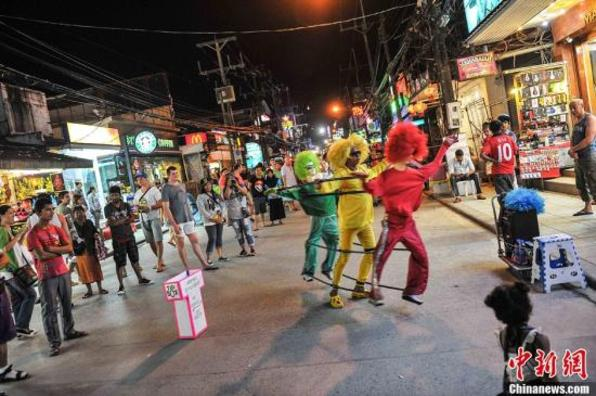 今年前5月泰国旅游业收益增长 海岛观光仍大热