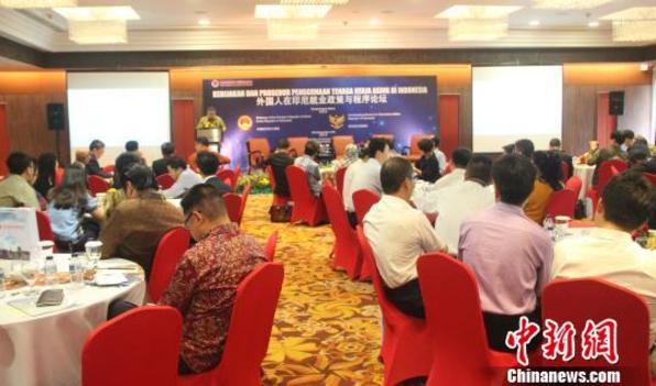 """中印尼双方研讨""""外国人在印尼就业""""难题(图)"""