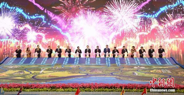 第十四届中国-东盟博览会在南宁开幕