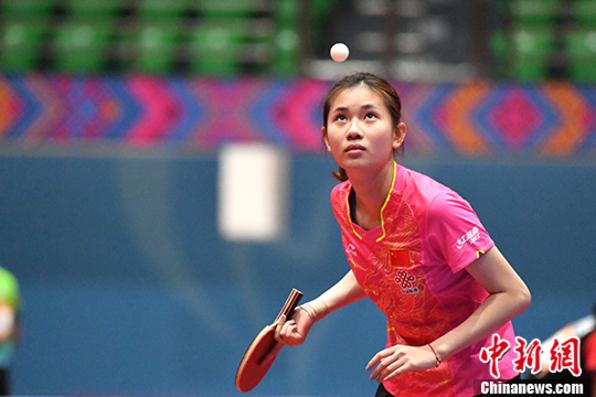 中国―东盟乒乓球赛开赛 十一国十二支队伍参赛