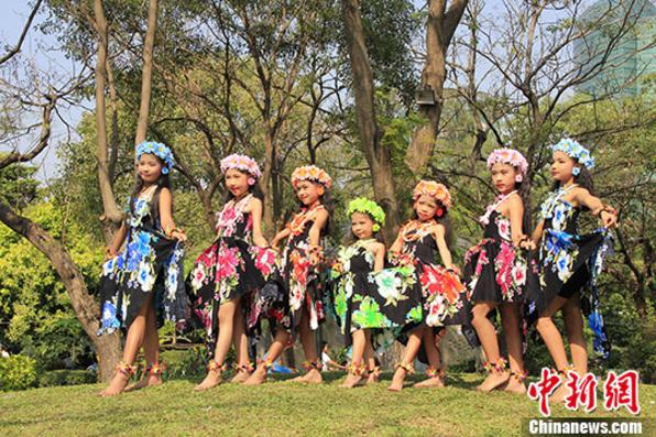 """泰国儿童节:总理府""""变身""""童真乐园"""