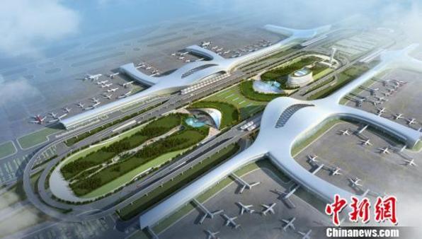 南宁国际空港综合交通枢纽建设项目启动 将实现换乘无缝衔接