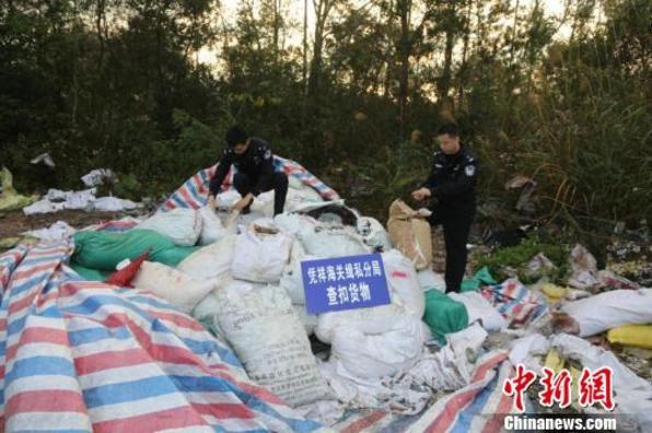 南宁福州海关联手破获特大洋垃圾走私案