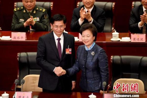蓝天立当选广西壮族自治区政协主席