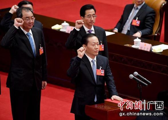 彭清华当选广西人大常委会主任 陈武当选自治区主席