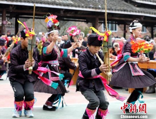 广西侗乡欢歌耶舞迎新春