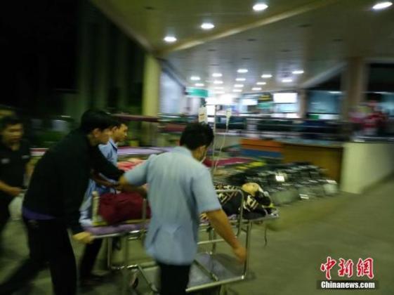 泰国清迈交通事故受伤中国游客得到妥善救治
