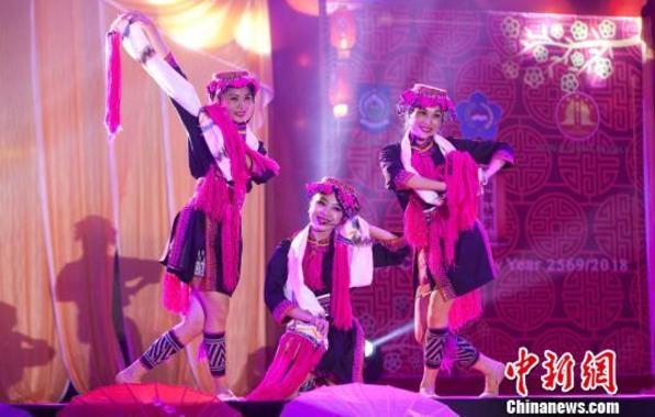 中国驻登巴萨总领馆与印尼西努省联办新春晚会(图)
