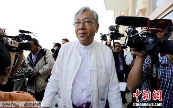 缅甸总统吴廷觉辞职