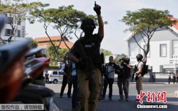 印尼泗水发生第4起爆炸:警察总部遭袭致1死10伤