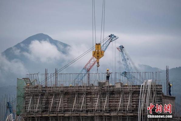 开户送体验金大藤峡水利枢纽工程正在紧张施工