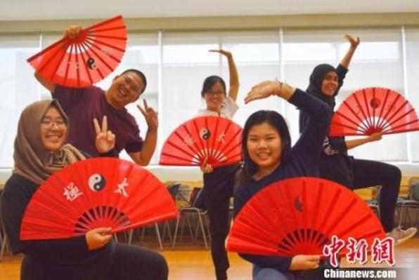 """印尼高校学生体验""""趣味中国"""""""
