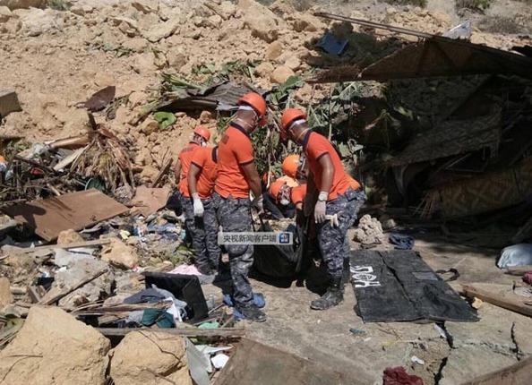菲律宾山体滑坡已致46死 新台风恐将增加搜救难度