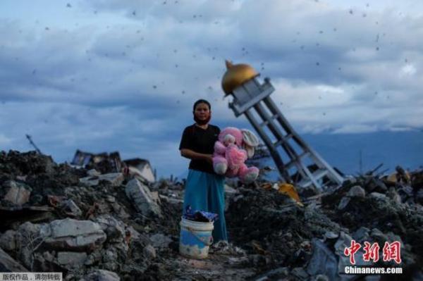 印尼灾后创伤严重重建之路遥远 学生返校气氛低迷