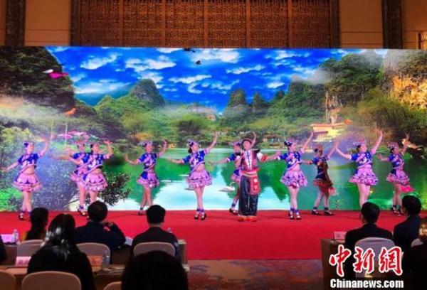 """""""长寿之乡""""广西巴马长沙推介 邀游客探寻长寿奥秘"""