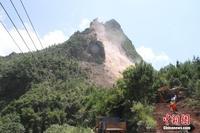 广西桂林平乐县山体坍塌