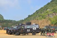 广西开展史上最大规模反恐实兵实弹演习