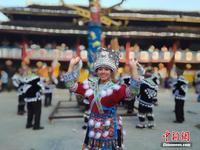 广西大苗山举办金秋芒哥节 原生态民俗吸引游客