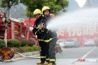 桂林消防国庆开展实战拉动考核演练