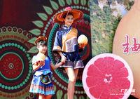 广西环江县举办第二届红心香柚节