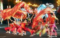 第六届桂林国际山水文化旅游节上演艺术巡游