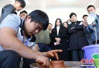 """""""中国名陶""""茶壶设计制作大赛在钦州举行"""