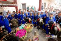"""广西东兰壮族民众欢度""""蚂拐节"""""""