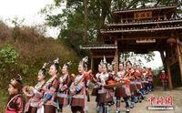 """广西三江""""二月二""""演绎百年传统侗族大歌节"""