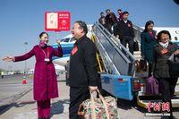 全国人大广西代表团抵达北京