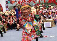 央视《乡村大世界》栏目走进广西忻城 聚焦壮族民俗